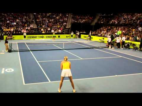Sharapova vs Azarenka - Clash of The Champions - part 1