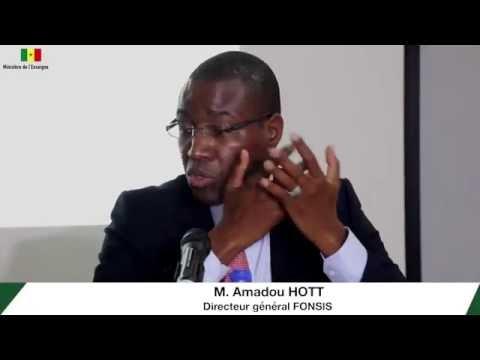 [VIDÉO] Atelier sur les écosystèmes de l'ISEP de Diamniadio M Amadou HOTT DG FONSIS