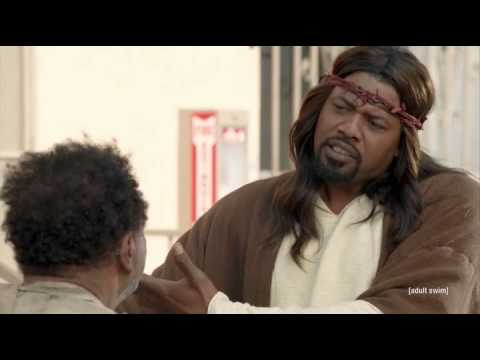 The first minute of Black Jesus had me hooked