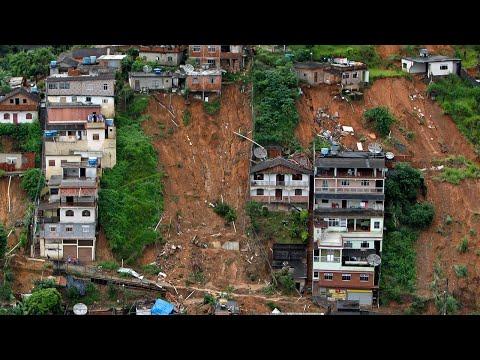 Video - Βραζιλία: Στους 53 οι νεκροί από τη σφοδρή καταιγίδα