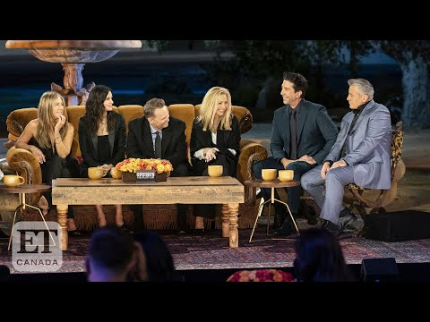 'Friends' Cast Recalls Emotional Return To Iconic Set