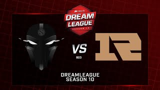 The Final Tribe vs Royal Never Give Up, DreamLeague Minor, bo3, game 1 [Adekvat & Mortalles]