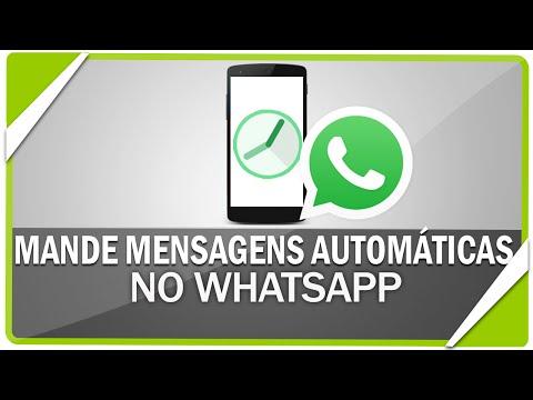 Como mandar mensagens automáticas no Whatsapp