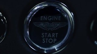 Aston Martin 5.2 Litre V12 Twin Turbo Teaser