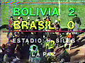 Bolivia 2 Brasil 0 Eliminatorias USA 94