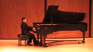Anthony Luis Sanchez, Piano Recital April 8, 2011