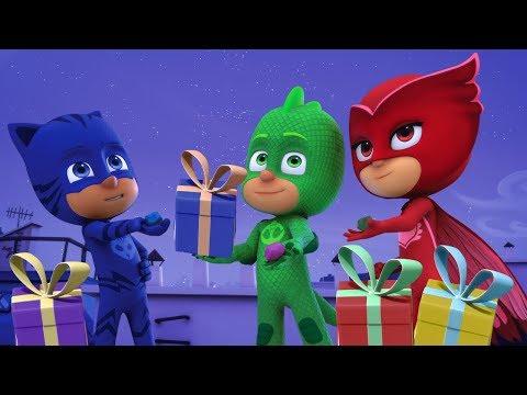 Герои в масках - Гекко спасает Рождество - Сборник (120 минут) - мультики для детей (видео)