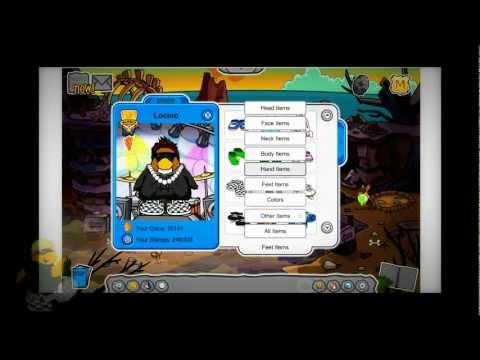 Club Penguin - Contraseñas de Pinguinos Socios - ( Enero 2013 )