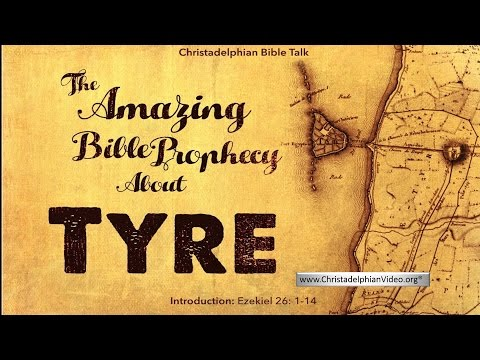 Ancient Tyre A Bible Prophecy Fulfilled