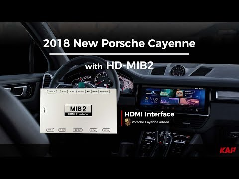 2018 New Porsche Cayenne HDMI Interface with ROIK-10
