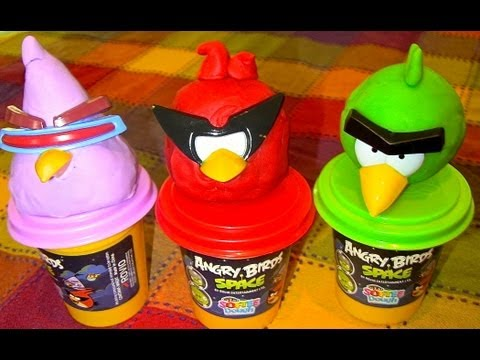 ANGRY BIRDS SPACE Softee Dough!