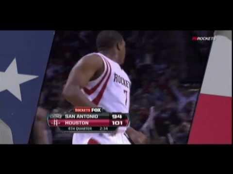 Kyle Lowry hits big three vs. Spurs