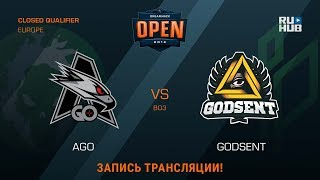 GODSENT vs AGO, game 1