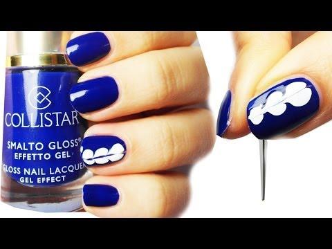nail art super facile senza attrezzi!