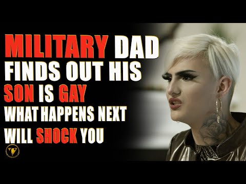 Military Dad Finds Out Son Is Gay, What He Does Will Shock You
