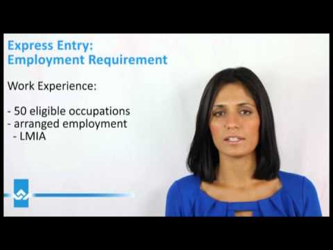 Express Entry Employment Requirement Video