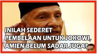 Video Inilah Deretan Pembelaan Untuk Jokowi, Amien Rais Masih Belum Mau Sadar Juga? MP3, 3GP, MP4, WEBM, AVI, FLV Oktober 2018