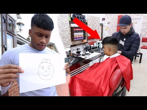 Whatever you draw, I'll get that haircut w/LITTLE BROTHER!