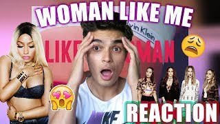 LITTLE MIX AND NICKI MINAJ!!! // (Woman Like Me)  Reaction & Review