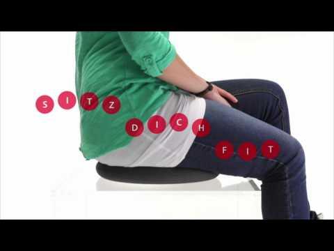 Lindere deine Rückenschmerzen mit dem TOGU happyback® Ballkissen®