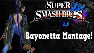 ULTIMATE CLIMAX! | SSB4 Bayonetta Montage