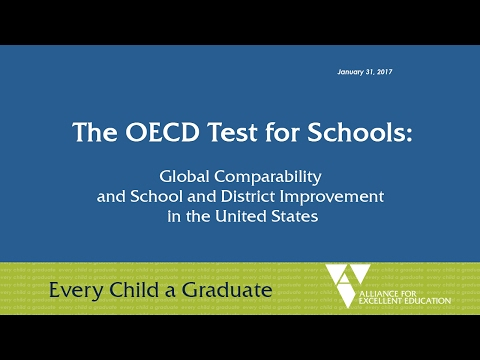 Alliance Webinar on the OECD Test for Schools