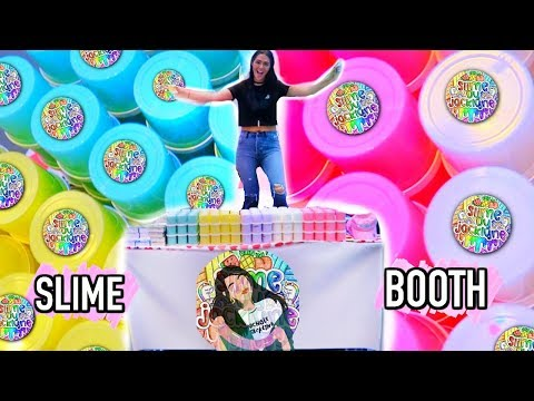 SELL SLIME at a SLIME CONVENTION with me!  *hundreds of slimes*