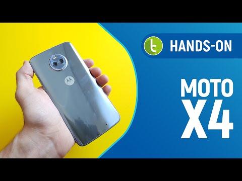 Motorola Moto X4: hands on e primeiras impressões  TudoCelular.com