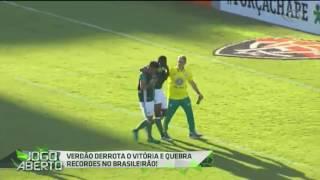 O Verdão enfrentou o Vitória no Barradão, neste domingo (11), e venceu por 2 a 1. Com o resultado, a equipe alviverde encerrou...