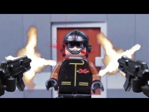 樂高人大屠殺,超精彩的槍戰!