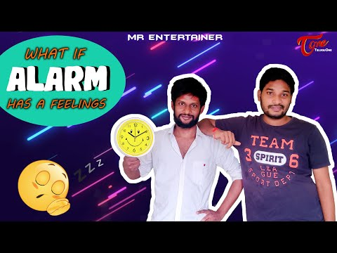 What if alarm had feelings | Latest Telugu Comedy Short Film 2020 | MR Entertainers | TeluguOne