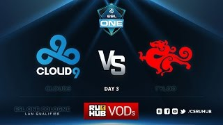 C9 vs TyLoo, game 1