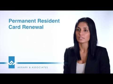 Permanent Resident PR Card Renewal Video