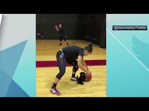 South Carolina women's basketball gets an adorable new puppy teammate | ESPN