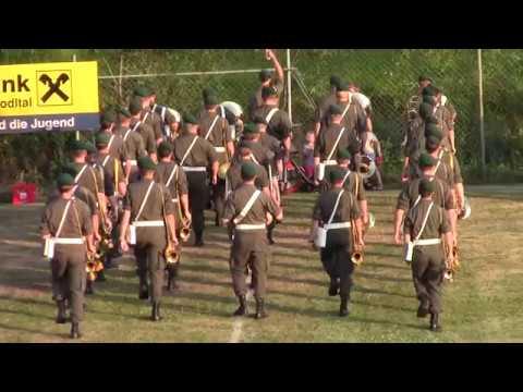 Rasenshow der Militärmusik OÖ in Zwettl am 24. Juni 2017