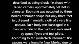 Smoking-gun Document Proving Roswell UFO Crash Released To Public