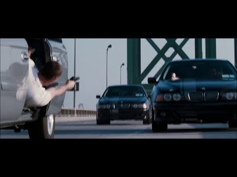 Mr. & Mrs. Smith - Car Chase Scene (HD)