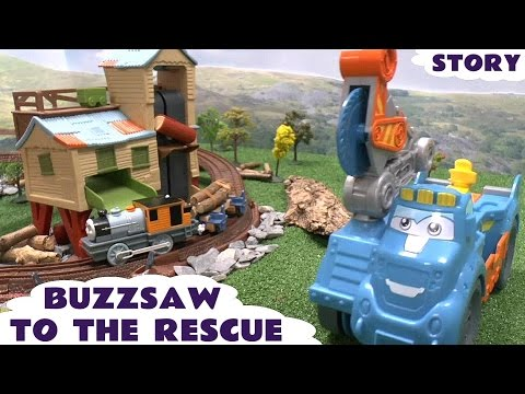 Play Doh Diggin Rigs Buzzsaw Thomas and Friends Rescue Story Bash Dash Misty Island Playdough