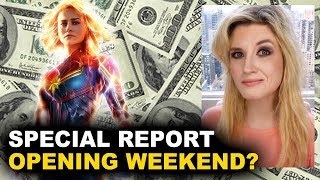 Captain Marvel Box Office Predictions - Opening Weekend?