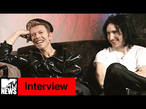 David Bowie & Trent Reznor 1995 Interview with Kurt Loder | MTV News