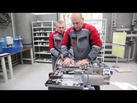 Коробки передач российской компании «Кате», устанавливаемые наавтомобили AURUS
