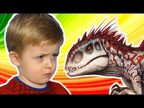 Загадки для Детей про Динозавров Большой Сборник Все серии подряд  Детям про Динозавров Lion boy (видео)