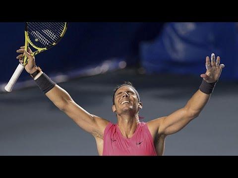 Rafael Nadal feiert Turniersieg in Acapulco