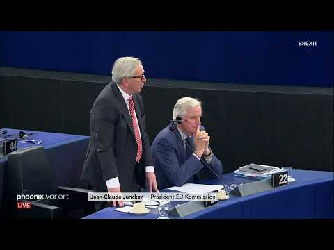 Brexit-Debatte im EU-Parlament am 16.04.2019