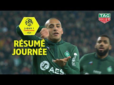Résumé 17ème journée - 2ème partie - Ligue 1 Conforama / 2018-19
