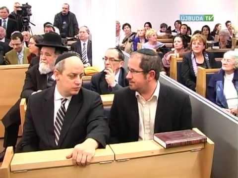 """Így látta az újbuda TV – interjúk – """"Felavatták a Bét Sálom zsinagógát"""""""