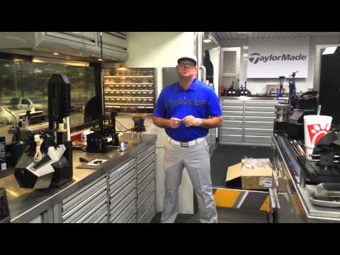 Zach Heusser SLDR 5 Wood build on TaylorMade Tour Truck