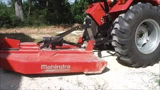 6. How to connect your mowing implement to your Tractor