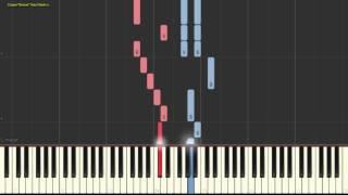Jingle Bells (Easy). �нтенсивный курс. Лёгкий вариант.(Пример игры на пианино) (piano cover)