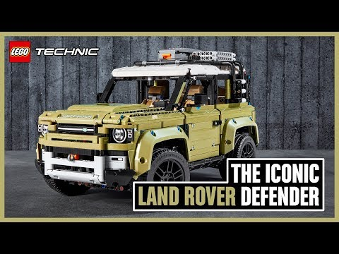 New Land Rover DEFENDER 42110 – LEGO Technic – Above and Beyond
